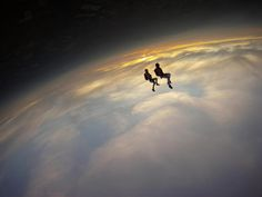 Mind (and space) bending skydive photo by Andy Godwin. (GoPro camera)