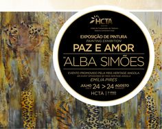 Exposiçaõ de pintura de Alba Simões no Hotel HCTA Talatona!! Reserve já o seu Hotel em www.hotelemluanda.com  Painting exhibition at HCTA Hotel Talatona!! Book now your Hotel at www.hotelinluanda.com #luanda #angola #hotelemluanda #Talatona #hoteltalatona #albasimoes #exposicaodepintura