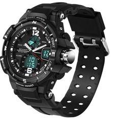 11a09e698fd Sportovní hodinky voděodolné do 50 metrů černé – dámské hodinky Na tento  produkt se vztahuje nejen
