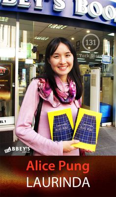 Alice Pung is tiny! But she has BIG talent and has brought it to her latest novel, Laurinda.