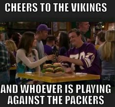 Vikings cheers HIMYM Are you true Vikes Fan? This Vikings gear for you! Tap link and get yours now! Are you true Vikes Fan? This Vikings gear for you! Tap link and get yours now! Minnesota Vikings Football, Best Football Team, Football Memes, Minnesota Funny, Football Stuff, Football Season, Vikings Season, Vikings 2, Thoughts