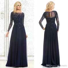 2016 Long Plus Size Mother Of The Bride Dresses Appliques Bead Backless Evening Gowns Formal Prom Dress Mother Of The Bride Outfit Mother Of The Bride Suits From Officesupply, $120.42| Dhgate.Com