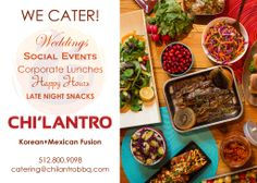 Did you know we cater?