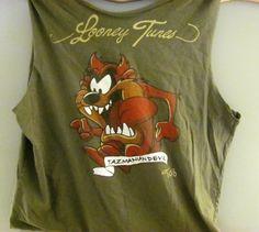 Fun Upcycled Tshirt Tote