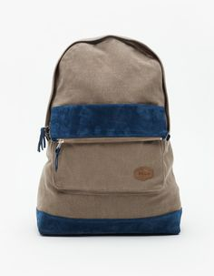 Brooklyn We Go Hard (BWGH) Grey/Navy Backpack