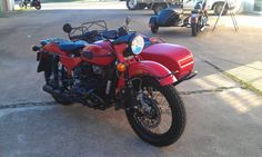 Ural Red October Edition #sidecar #motorcycle #rad