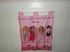 organizadores de plástico para guardar bonecas