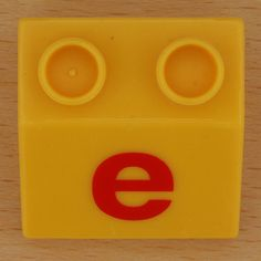 Block Lowercase Letter E By Leo Reynolds Via Flickr  E Is For
