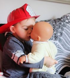 """A Feminist On Raising A Boy """"So far, my plan is to raise a man who knows how to cook, clean, care for a child, build things, fix things, throw a ball, and not give a damn which thing is 'girly' and which thing is 'manly.' I feel like there is a lot of focus on raising feminists daughter but to prevent sexism we need to liberate and, more importantly, teach both sexes"""