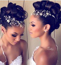 Updo/ Mohawk/ Bridal Hairstyles/ Bridal Updos/ Wedding Hair/ Upstyle/ Brides / Pink Pewter / @lalasupdos