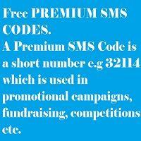 RSA FREE PREMIUM SMS CODES.