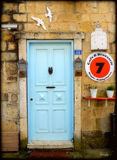 Blue door, Alaçatı, İzmir, 2013.