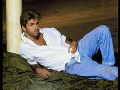 George Michael ~ Damn, Thought He Was  Posing For Us Girls, Sadly Not.  Still Love Him, He Is Adorable and The Ultimate Cool!!