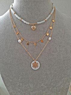 + collar cadena colgante ohrhänger aretes individualmente o set Diente de león