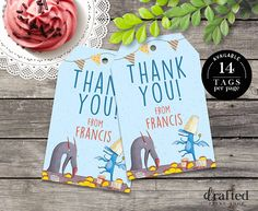 Dragons Love Tacos Thank You Tags, Dragons Love Tacos Gift Tags, Dragons Love Tacos Favor Tags, Dragons Love Tacos Printables Pig Birthday, Fourth Birthday, Birthday Ideas, Favor Tags, Gift Tags, Dragons Love Tacos Party, Taco Party, Dragon Party, Drink Signs