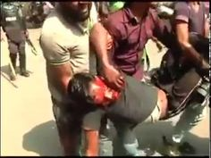 5th May, Aggression of Police at Baitul Mukarrom