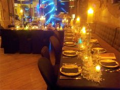 Diner #findining #chef #ralphnuss #artdelatable #candles #tablessettings