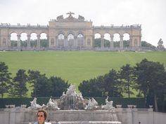A Vienne en Autriche. Voyage en Europe de l'Est en 2008.