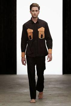 #Menswear #Trends Ailinda Sawe Fall Winter 2015 #Tendencias #Moda Hombre   M.F.T.