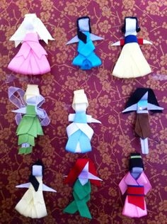 Princess hair clips by Babydobows on Etsy, $2.99