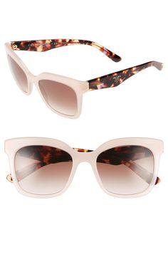 bf26edb4e8c22 Prada  Triangle Logo  53mm Sunglasses Triangle Logo