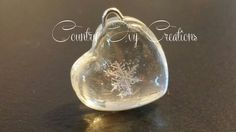 Real Preserved Snowflake pendant real by CountryIvyCreations