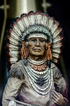 Cigar Store Indian | Cigar Store Indian | Flickr - Photo Sharing!