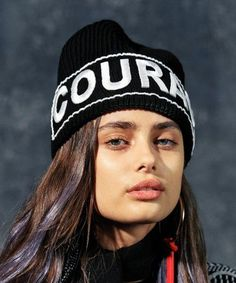 Taylor Hill photographed by Bruce Weber for Versace Fall /...
