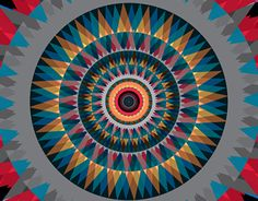 """Check out new work on my @Behance portfolio: """"God Eye 016 (Mandala)"""" http://be.net/gallery/45308173/God-Eye-016-(Mandala)"""