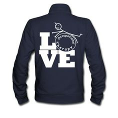 LOVE OT - This Occupational Therapy design is all about caring. You love what you do, so show it! A great item for occupational therapy students, therapists, and occupational therapy assistants.