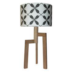 FUNDI | Jaggered Tripod Table Lamp - Homeware - 5rooms.com Handmade Lampshades, Tripod Table Lamp, I Love Lamp, Scandinavian Design, Design Inspiration, Contemporary, Chair, Lighting, Home Decor