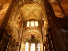 The mosaics of Ravenna Italy