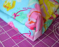 """18"""" Doll Mattress Sewing Tutorial - easy box mattress - just 2 pieces of fabric and a little sewing trick"""