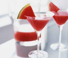 We'd bet that you have at least one happy childhood memory that includes a slice of juicy, sweet watermelon. Get your grown-up fix of this summer staple with these recipes, whether you're thinking poolside cocktails or side dishes at your next backyard BBQ.   Cool Off With These Refreshing Watermelon Recipes  read more: http://on.self.com/177Nna5  #food #diet #recipe #summer #sweetsweat