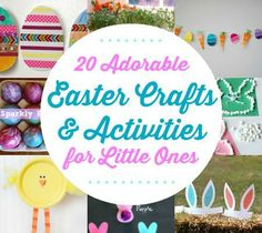 20 Adorable Easter Crafts & Activities for Little Ones