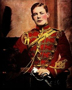 Winston Churchill | 30 Famous Historical Figures When They Were Young