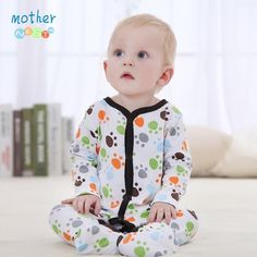 Baby Clothing 2016 New Baby Girl Newborn Clothes Romper Long Sleeve Jumpsuits Infant Product,Baby Rompers Summer Boy - Kid Shop Global - Kids & Baby Shop Online - baby & kids clothing, toys for baby & kid Baby Romper Pattern, Baby Boy Romper, Baby Rompers, Newborn Girl Outfits, Baby Girl Newborn, Kids Outfits, Baby Baby, Long Romper, Long Sleeve Romper
