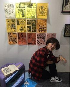 這畫風看一眼就忘不了!你不能不認識的韓國插畫家 OHAMKING | Dappei