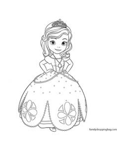 color page 4 coloring pages zosiasofia partyprincess - Princess Tea Party Coloring Pages