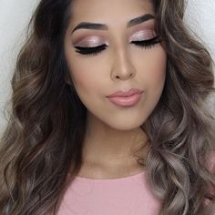 Queen ♛             – glamheaven:   Glam life   ... Kiss Makeup, Cute Makeup, Makeup Looks, Hair Makeup, Stunning Makeup, Flawless Makeup, Stunning Eyes, Makeup Tips, Makeup Ideas