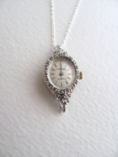 Vintage watch face necklaces jewelry pinterest vintage watches vintage watch face necklaces jewelry pinterest vintage watches face and vintage aloadofball Gallery
