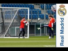 Ver Casillas joined the group for the first training session of the week