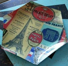 DIY decoupage plates | The DIY Adventures- upcycling, recycling and do it yourself from around the world.