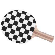 Chess style ping pong paddle - home gifts ideas decor special unique custom individual customized individualized