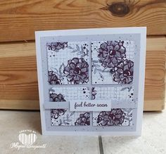 Magical Scrapworld: Feel better sooncards, sale-a-bration 2016, spring catalogue 2016, Stampin' Up!, what I love, timeless textures