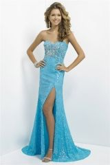 Pool shiny stones sequinned prom dress new 2016 beaded pageant gown with side slit Style 9796 http://www.topdesignbridal.com/pool-shiny-stones-sequinned-prom-dress-new-2016-beaded-pageant-gown-with-side-slit-style-9796_p3740.html
