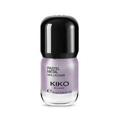 Pastel Metal Nail Lacquer - Silver Lilac