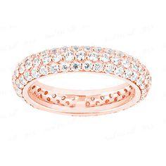 Diamantring mit 2.00 Karat Diamanten aus 585er Rosegold. Erhältlich bei www.juwelierhausabt.de