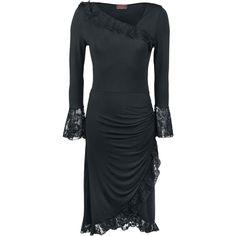 Spiral  Mittellanges Kleid  »Lace Drape«   Jetzt bei EMP kaufen   Mehr Gothic  Mittellange Kleider  online verfügbar ✓ Unschlagbar günstig!