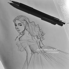 Instagram photo by juditmallolart - Who else has fallen in love with the new #cinderella movie? @lilyjamesofficial is a real-life princess tbh
